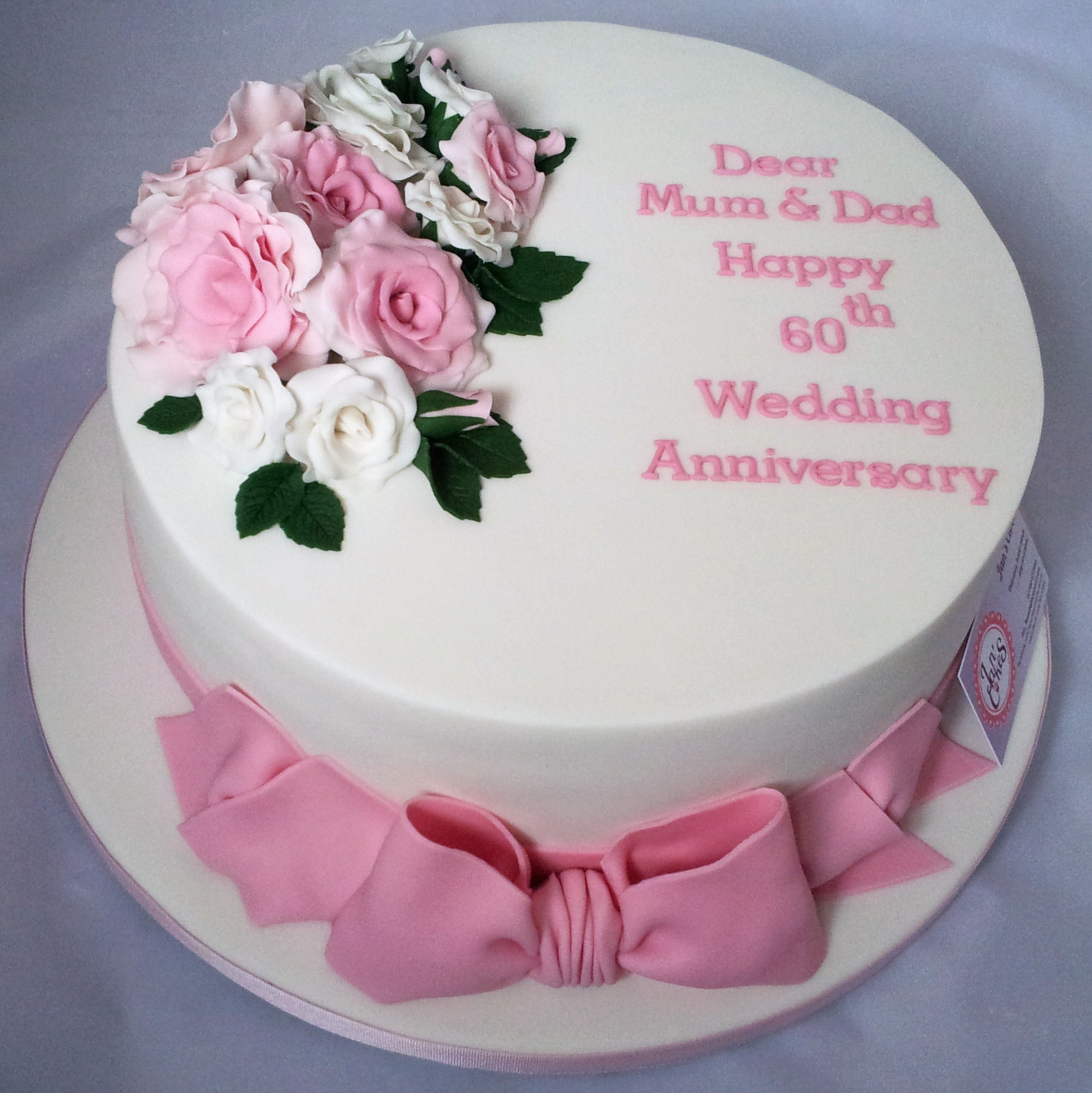 Anniversary Day Cake Images : 100+ [ 60th Wedding Anniversary Cake Ideas ] 21 Romantic ...